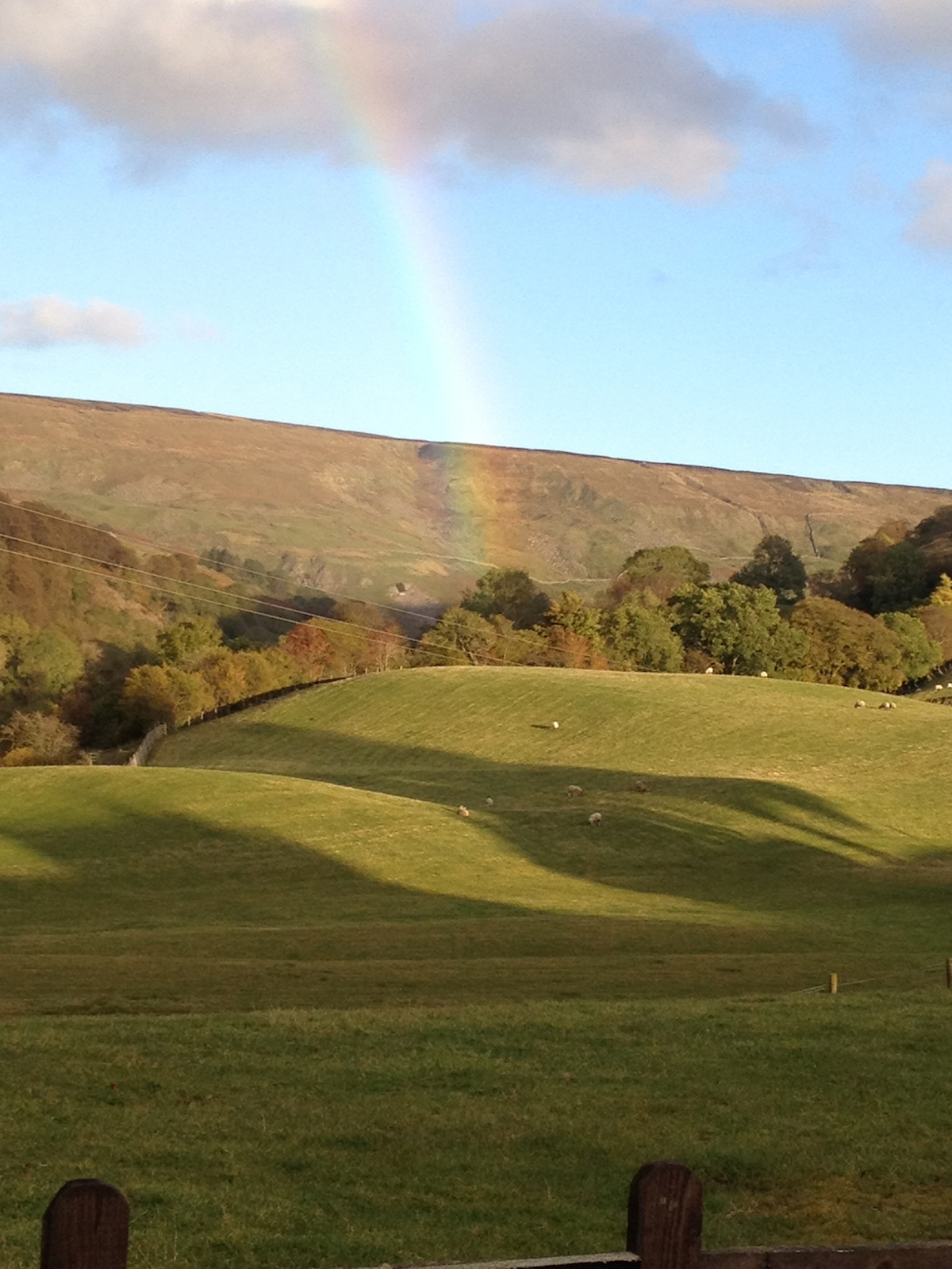 Rainbow over Swaledale
