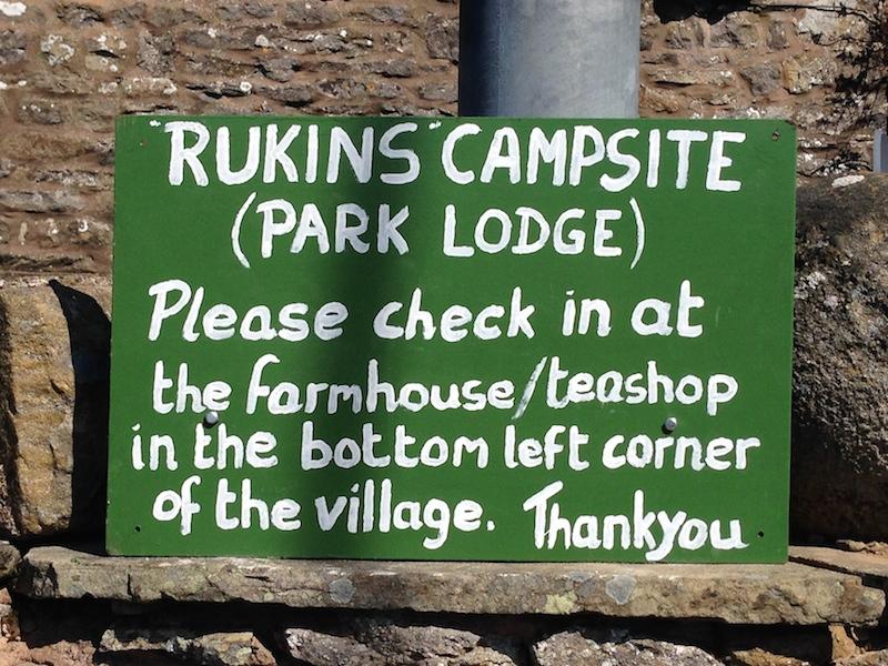Rukins Campsite